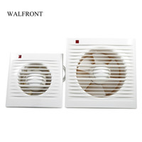 Wholesale mounted wall fan resale online - Freeshipping quot quot Ventilating Exhaust Extractor Fan Bathroom Kitchen Window Toilet Wall Mounted Extractor Fan V Ventilation Fan