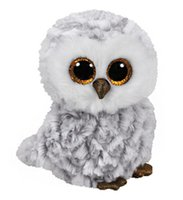 Wholesale wedding stuffed animals online - 15cm inch Ty Beanie Boos Plush Toy Owlette the Owl Stuffed Animal Kids Toy Christmas Gift popular