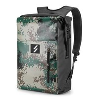 Wholesale waterproof backpacks for cycling for sale - Group buy 25L PVC Outdoor Backpack Large Capacity Roll Top Waterproof Dry Bag Backpack for Cycling Camping Hiking Fishing Kayaking Bags