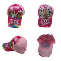 beyzbollu sıcak kızlar toptan satış-Sıcak Çocuk Beyzbol Şapkası Çocuk Erkek Kız Karikatür baskı sivri şapka ayarlanabilir kap 2 renkler MMA2243