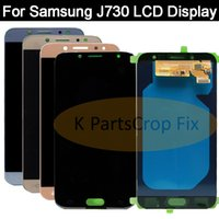 инструменты nexus lcd оптовых-Super AMOLED For  Galaxy J730 J7 Pro 2017 LCD Display+Touch Screen Digitizer Assembly Replacement For  J730 LCD