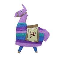 Wholesale 12cm fortnite toys action figure Troll Stash Llama Alpaca Rainbow Horse Fortnight Game toys