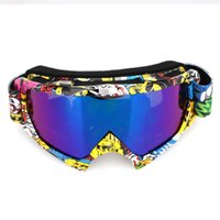 Wholesale colors goggles ski for sale - Group buy Ski Goggles Wind Mirror Antifogging Colors Snow Mountain Outdoor Sport Anti Fog Snowmobiling Windproof Game Snowboard Riding