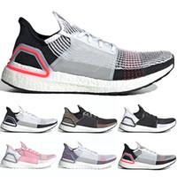 new concept e9f63 e279f Adidas Ultra Boost Pas Cher Ultra 3.0 4.0 Chaussures De Course UB Triple  Noir Blanc Oreo CNY Gris Hommes Femmes Designer Entraîneur Sport Sneaker  Taille 5- ...