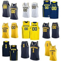 Wholesale michigan basketball jerseys resale online - NCAA Michigan Wolverines Jerseys Cole Bajema Jersey CJ Baird Eli Brooks Colin Castleton Davis Mens College Basketball Wears Custom Stitche