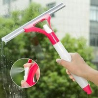 digitação de janelas venda por atacado-25.5 * 30 cm Tipo de Pulverização Escovas De Limpeza De Vidro Janela Limpa Barbear Limpador de Janela Do Carro Escovas de Limpeza Handy Cleaner CCA11192 60 pcs
