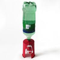 подогреватель воды для бутылок с горячей водой оптовых-Главная Творческий Второе Поколение Повышенная Спрайт Кокс Бутылка Перевернутый Пьющий Бытовой Ленивый Переключатель Питьевой Машина