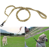 Wholesale wide dog collars resale online - Tactical Dog Collars Leashes cm Wide Army Nylon Adjustable Leads Waterproof For Dogs Leash Pet Universal Belt K457