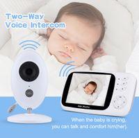 Wholesale control lcd display resale online - new Wireless Podofo Baby Monitor Digital Video Audio Music Portable Camera for Children Nanny Monitor Intercom Temperature Sensor