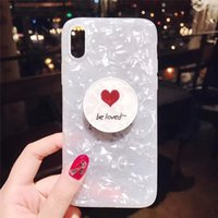 Wholesale water phone protector online – custom Be Loved Diamond Pattern For iPhone X Xr Xs Xs Max Phone Case Protector For Ladies