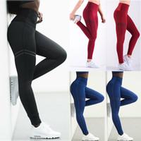 fitness sportbekleidung frauen großhandel-Details über Frauen Sport YOGA Hosen Workout Gym Fitness Leggings Stretch-Hosen Sportswear