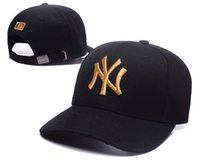 Wholesale snapback caps new york resale online - High Fashion Snapback Cap New York Adjustable Baseball Hats Snapbacks High Quality golf Sport cap men women bone gorras casquette dad hat