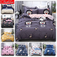 Wholesale boys twin size bedding sets for sale - Group buy Kids Child Boy Girl Creative Fashion Duvet Cover Sheet Pillowcase Bedding Set Adult Soft Cotton Bed Linen Single Twin Full Size