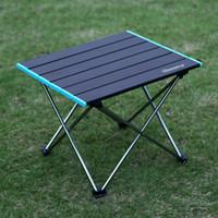 Wholesale ultralight camping table resale online - ShineTrip Camping Folding Table Portable Ultralight Picnic Desk with Carry Bag for Picnic BBQ Cooking Festival Beach Home Use