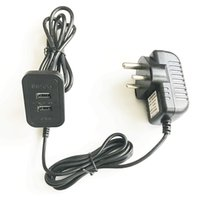 Wholesale beds china online - Furniture Accessories Recliner Sofa Bed Hardware Made in China Dual USB2 Ports South Africa India Plug V2A Power Adaptor Supply