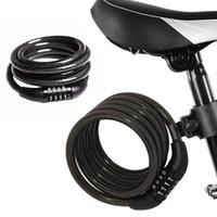 bisiklet resimleri toptan satış-Kilit Kilit Olarak kilit Bobin Bisiklet Kodu resim 175g Taşınabilir Güvenlik Anti-hırsızlık Dijital # 265873