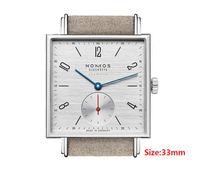 güzel saat kadın toptan satış-Kare Erkek Kadın Saatler Moda Basit Takvim Güzel Saatı Kuvars Deri Kayış İş Spor Kadın Erkek Izle
