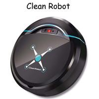 sauberen staubboden großhandel-Wiederaufladbarer automatischer Reinigungsroboter Smart Sweeping Robot Floor Dirt Dust Hair Automatischer Reiniger für elektrische Haushaltsstaubsauger