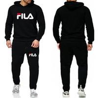 kadın hip hop spor pantolon toptan satış-Yeni Kış Tasarımcı Eşofman Erkekler Lüks Ter Suits Sonbahar Marka Erkek Jogger Sporting KADIN Hip Hop Setleri Suit ayarlar Ceket + Pantolon Takımları