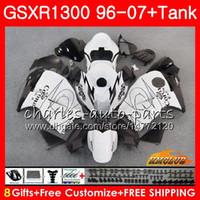 ingrosso belle versioni-Kit per SUZUKI GSXR 1300 1996 2002 2003 2004 CORONA new nice 2005 2006 2007 24NO45 GSXR-1300 Hayabusa GSXR1300 96 02 03 04 05 06 07 Carenature