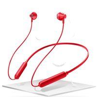 micrófono de cuello al por mayor-Auriculares inalámbricos Bluetooth Deportes Bluetooth 5.0 Estéreo Bajo pesado en el oído Auriculares HIFI Auricular colgado Auricular con micrófono Cuello montado Auriculares
