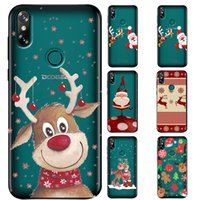 Wholesale doogee phone for sale - Group buy Merry Christmas Santa Claus Deer new year Cover phone Case for Doogee N20 Y8 X5 TPU Silicone Case