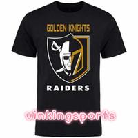 t-shirt gedruckter name großhandel-VEGAS GOLDEN KNIGHTS Druck T-Shirt FLEURY Neal Karlsson Deryk Engelland David Perron benutzerdefinierten Namen Nummer T-Shirt