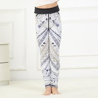 Wholesale cotton spandex yoga pants for sale - 2017 new children s digital printing fast drying breathable yoga pants spandex cotton blended spring sports trend huangkai