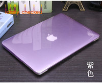 Wholesale 13 laptop for sale - Group buy 3in1 For MacBook Pro Inch CD ROM Model A1278 A1286 Version Early Crystal Clear Hard Cover Case