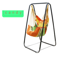 Wholesale swings for home for sale - Group buy Fashion Hammock Home Balcony Indoor Garden Bedroom Hanging Chair For Child Adult Swinging Single Safety Chair with Bracket cm