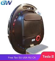 tekerlek dengesi toptan satış-2019 GOTWAY Tesla 16 inç Elektrikli unicycle Dengesi araba tek bir tekerlekli scooter 2000 W motor 850 / 1020WH, hayat 60-80km, hız 55km / s +