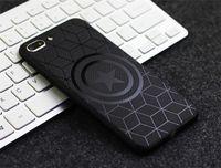 neue telefon fallmodelle großhandel-Neuer TPU-Handykasten, geeignet für iPhone-Modelle, schwarz geprägter Schutzfall für Herren. Für 6/7/8 / X / XR / XSMAX