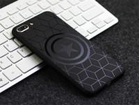 nouveaux modèles de cas de téléphone achat en gros de-Nouvel étui en TPU pour téléphone portable, adapté aux modèles d'iphone, étui de protection en relief noir pour hommes. Pour 6/7/8 / X / XR / XSMAX
