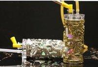pipes à fumer en acrylique achat en gros de-Jin Yinlong Narguilé Acrylique Narguilé, couleur, style livraison aléatoire, pipes à eau, bangs en verre, narguilé en verre, pipe, JFgy54