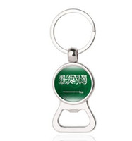 Wholesale soccer bottle resale online - Fashion Russia World Cup Beer Bottle Opener Key Chain Egypt Peru Panama Saudi Arabia South Africa Soccer Men s Fashion Party Decor