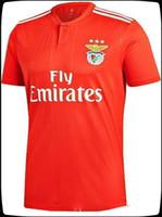 fútbol 14 al por mayor-Camiseta Benfica 10 JONAS 14 SEFEROVIC 19 ELISEU 18 SALVIO 21 PIZZI Muy popular 2018-2019 NUEVAS camisetas de fútbol para hombre