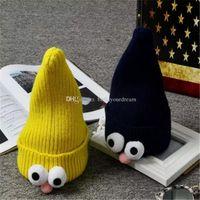 patrones de ganchillo de bebés gratis al por mayor-Los sombreros de crochet para bebés, los sombreros de crochet para bebés, los patrones de crochet son el mejor regalo de Navidad, envío gratis, 8 colores diferentes a128-a133