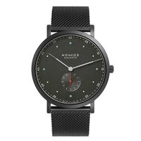 Wholesale working clock resale online - 2019 Brand nomos Men Quartz Casual Luxury Watch stainless steel Men Watches Male Clock small dials work Relogio Masculino Men Watches Quartz