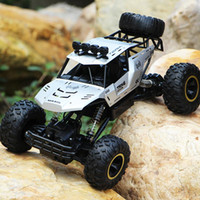 Wholesale bigfoot car for sale - Group buy 1 RC Car WD Climbing Car x4 Double Motors Drive Bigfoot Car Remote Control Model Off Road Vehicle Toys for Remote Gift