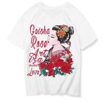 t shirts japan achat en gros de-Japon Style Hommes À Manches Courtes 2019 D'été 3d Impression T-shirts Hip Hop Tops Tees Harajuku Streetwear T-shirts De Mode T-shirt