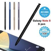 caneta stylus para galaxy venda por atacado-OEM Samsung Stylus S Pen Para Galaxy Note 5 Nota 8 Nota 9 Pen Toque substituição frete grátis Sem Bluetooth com logotipo