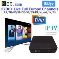 kostenlos tv watching großhandel-TVIP 415 mit 1 Jahr IPTV IUDTV-Abonnement Erwachsene können über 3000 Live-TV- und VOD-Kanäle in Europa, den arabischen Sportarten und den USA verfolgen