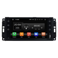 Wholesale grand mp3 resale online - 1024 Octa Core din quot Android Car DVD GPS for Chrysler Sebring C Jeep Grand Cherokee Compass Wrangler Journe GB RAM GB ROM