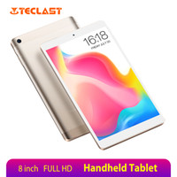 Wholesale tablet tf android resale online - 8 Inch Handheld Tablet Teclast P80 Pro x1200 FULL HD MTK8163 Quad Core GB RAM GB ROM Andriod Tablets PC GPS TF Slot
