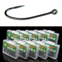Wholesale 970pcs box Maruseigo Hook High Carbon Steel With Hole Barbed Hooks Fishing Hooks Pesca Carp Fishing Tackle Accessories