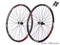 conjunto de roda 29er venda por atacado-No-limited super leve 29er MTB XC assimétrica impulso rodas de carbono 29 polegadas velosa MAS3.0 XC rodado, 2.6mm off set 15x110, 132x148 impulso