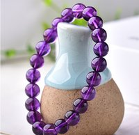 Wholesale semi precious stones round 8mm resale online - Cherry tree series natural semi precious stone Beaded Elastic Bracelet mm Round Bead cm
