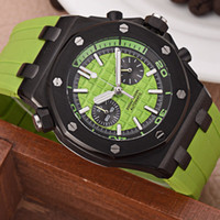 Wholesale a2 stainless steel for sale - Fashion Trends Imported Quartz Watches Luxury Mens Watch Rubber Strap mm mm Designer watches Black Case watch Box A2