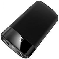 мобильная батарея iphone оптовых-30000 мАч Power Bank Внешняя батарея PoverBank 2 USB LED Powerbank Портативное зарядное устройство для мобильного телефона для Xiaomi Samsung iphone XS