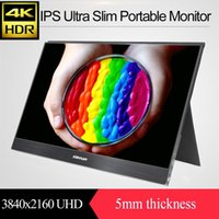 Wholesale 15 inch K x2160 HDR IPS Portable Monitor with HDMI DP input
